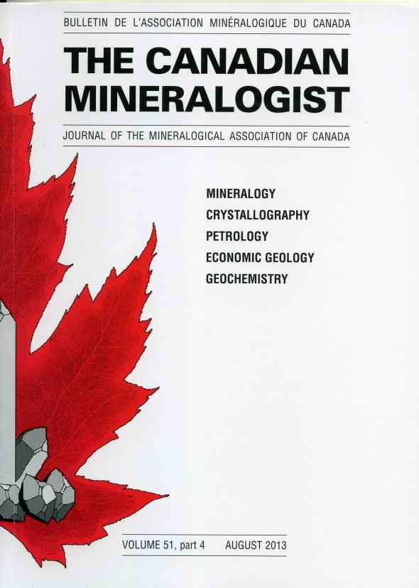 Canadian Mineralogist 4/2013