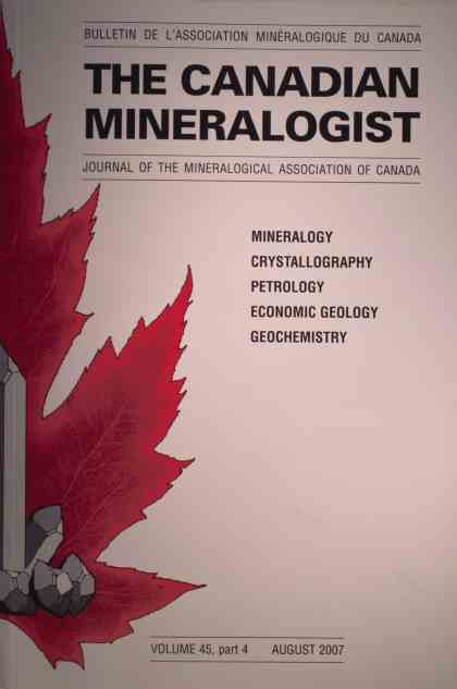Canadian Mineralogist 2007